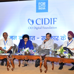 "CIO Digital Foundation (CIDIF) has organised a conference ""Mann ki baat Sarkar ke saath"""